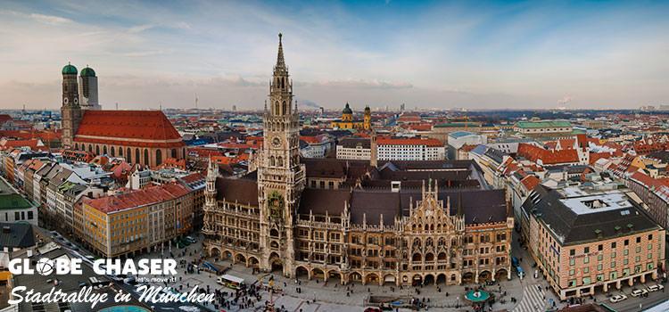 Teamevent Tipp: Stadtrallye durch München