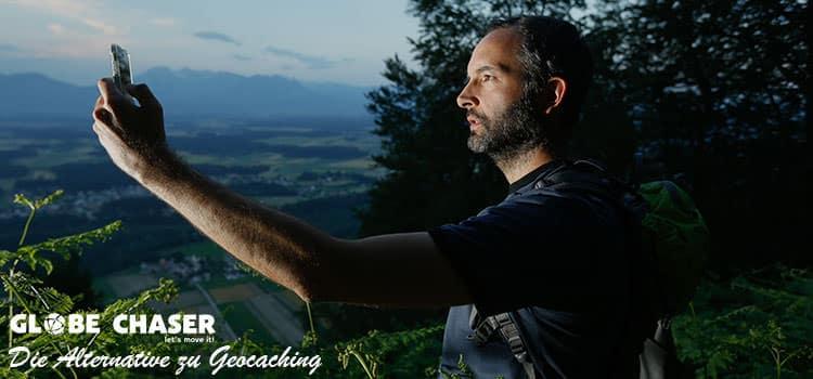 Geocaching Alternative - die Globe Chaser App für Outdoor Erlebnisse