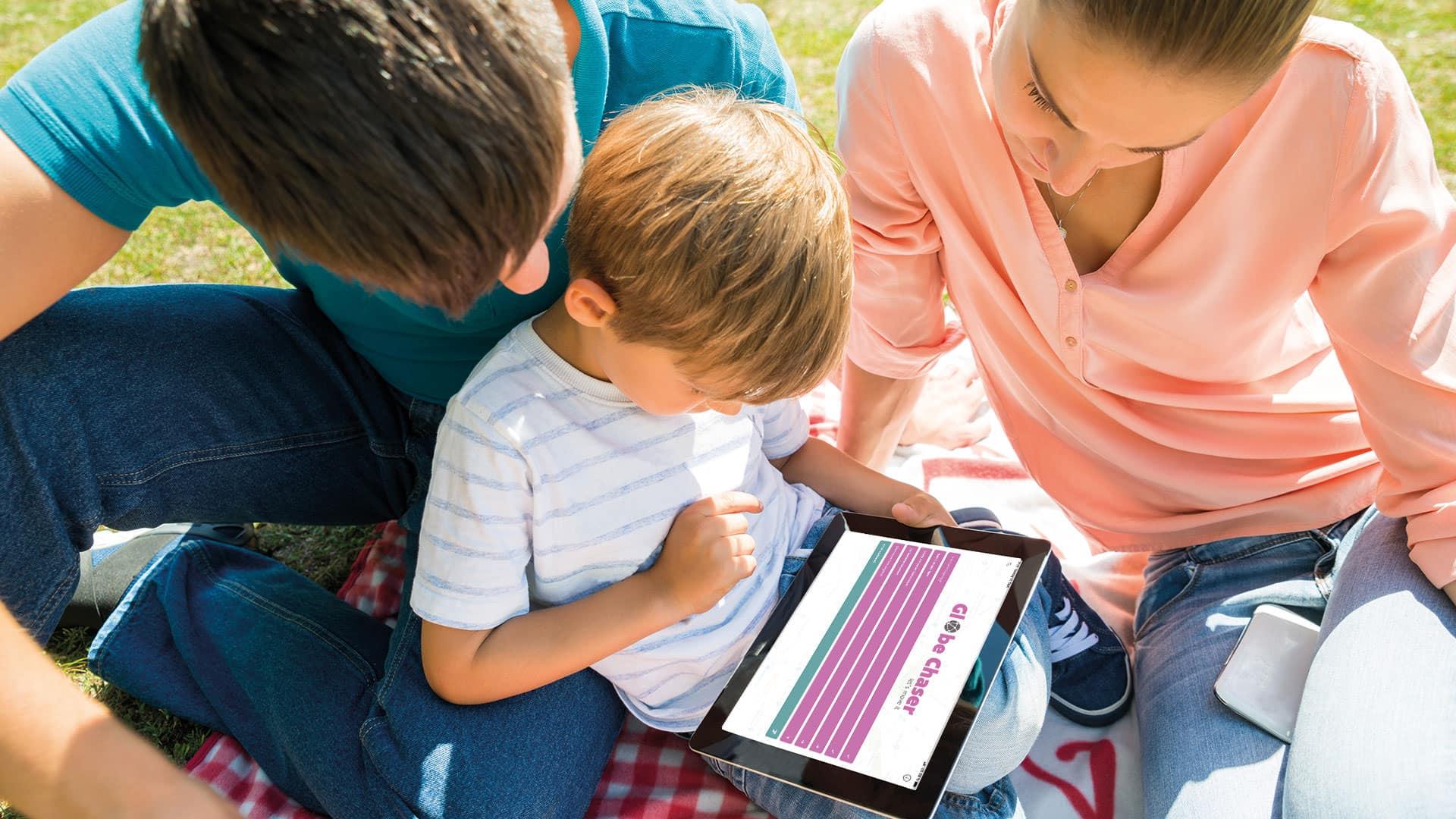 Freizeit App und Schnitzeljagd Idee für die ganze Familie | Globe Chaser
