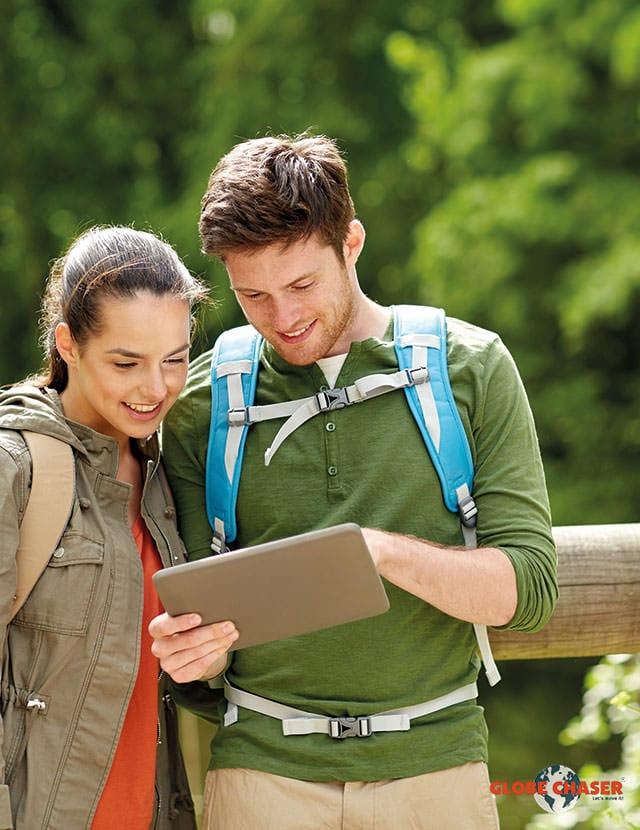 Spanndende Outdoor App als Freizeit Tipp für Familie und Freunde | Globe Chaser