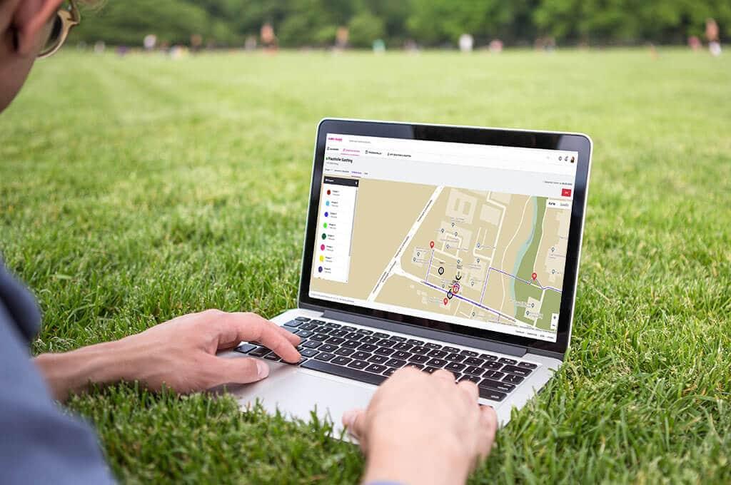 Live Verfolgung der Teams mit der App Globe Chaser - features