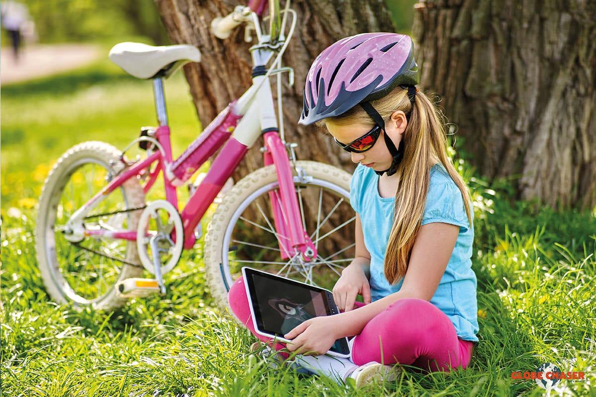Kinderfreundliche Outdoor Schnitzeljagd App für Kinder und Familien | Globe Chaser