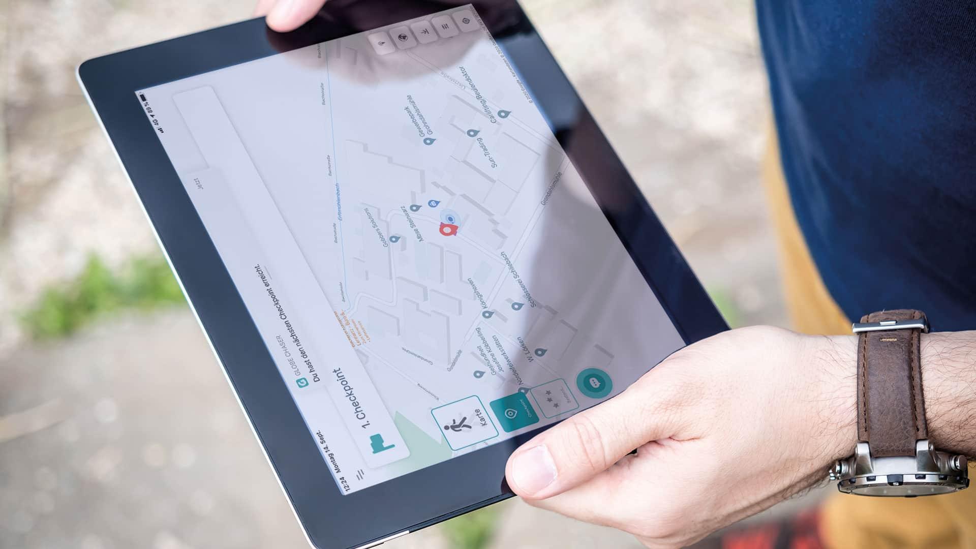 Outdoor Freizeit App Globe Chaser