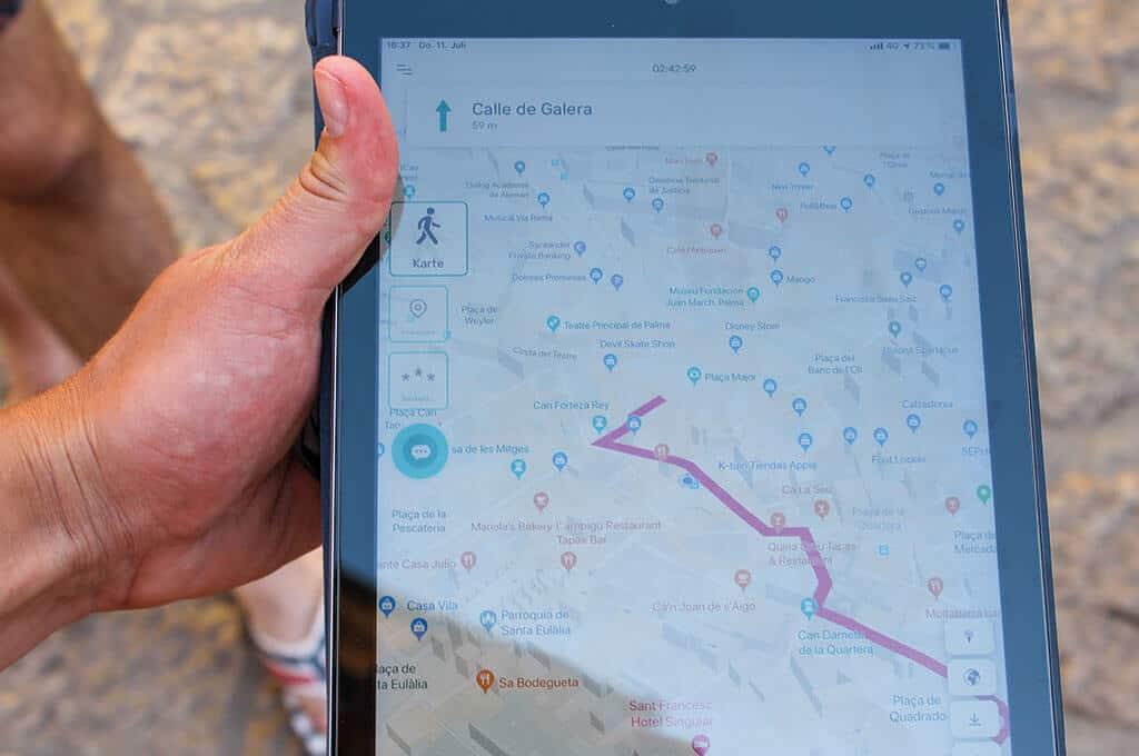 Outdoor Teamevents mit der Schnitzeljagd App Globe Chaser