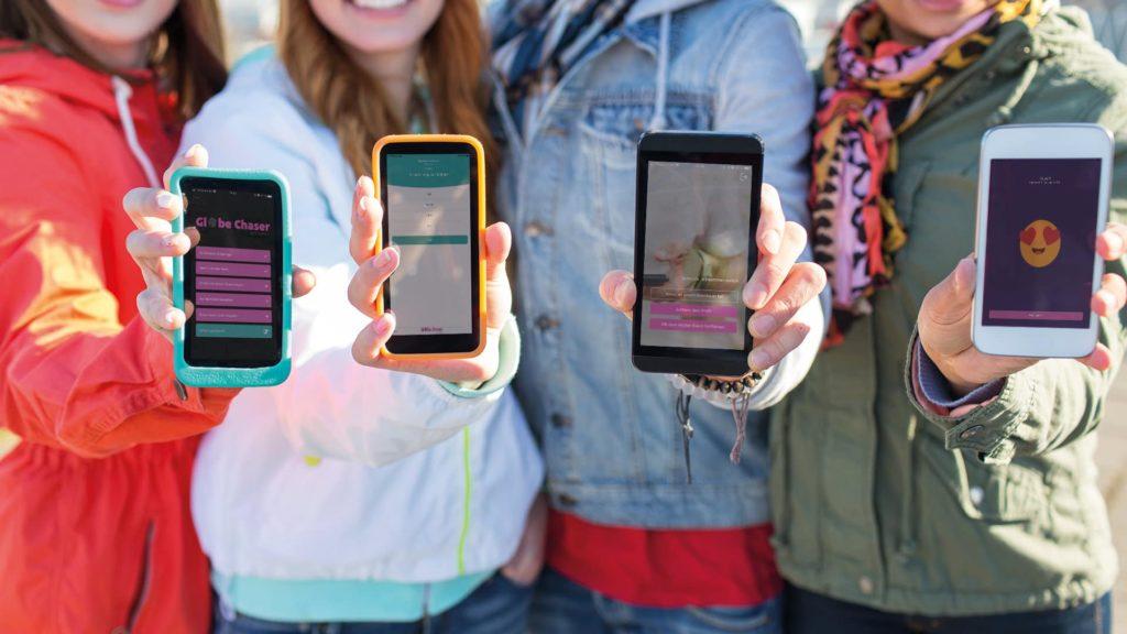 Teamevents Firmen mit Schnitzeljagd App Globe Chaser